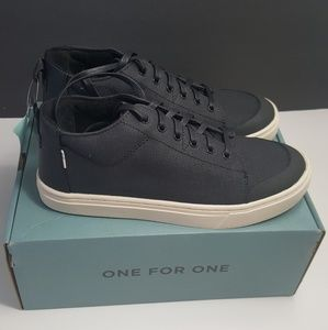 NEW!Toms Canvas Lenny Mid Sneakers